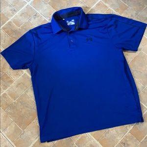 Under Armour heat gear polo shirt size men's large